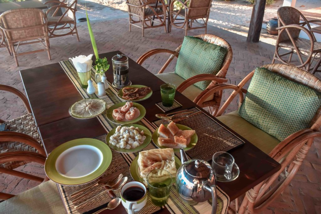 Lalay Lodge - local food