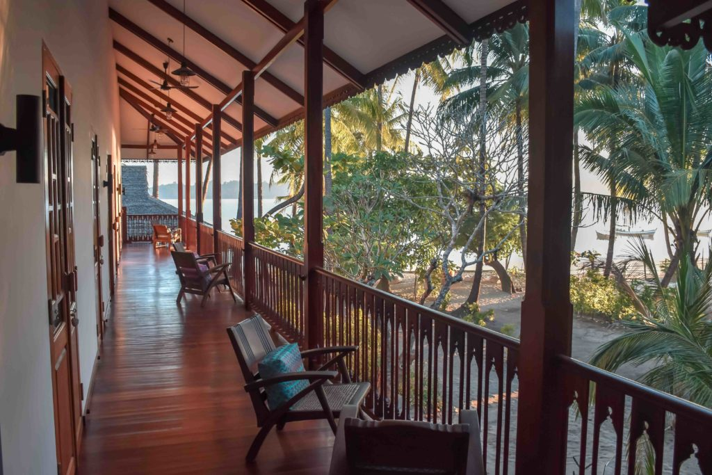 Lalay Lodge - view from the rooms