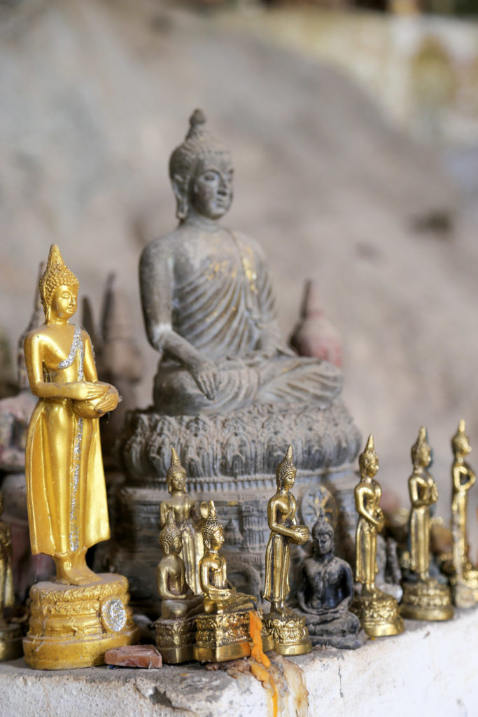 Laos Mini Buddhastatue