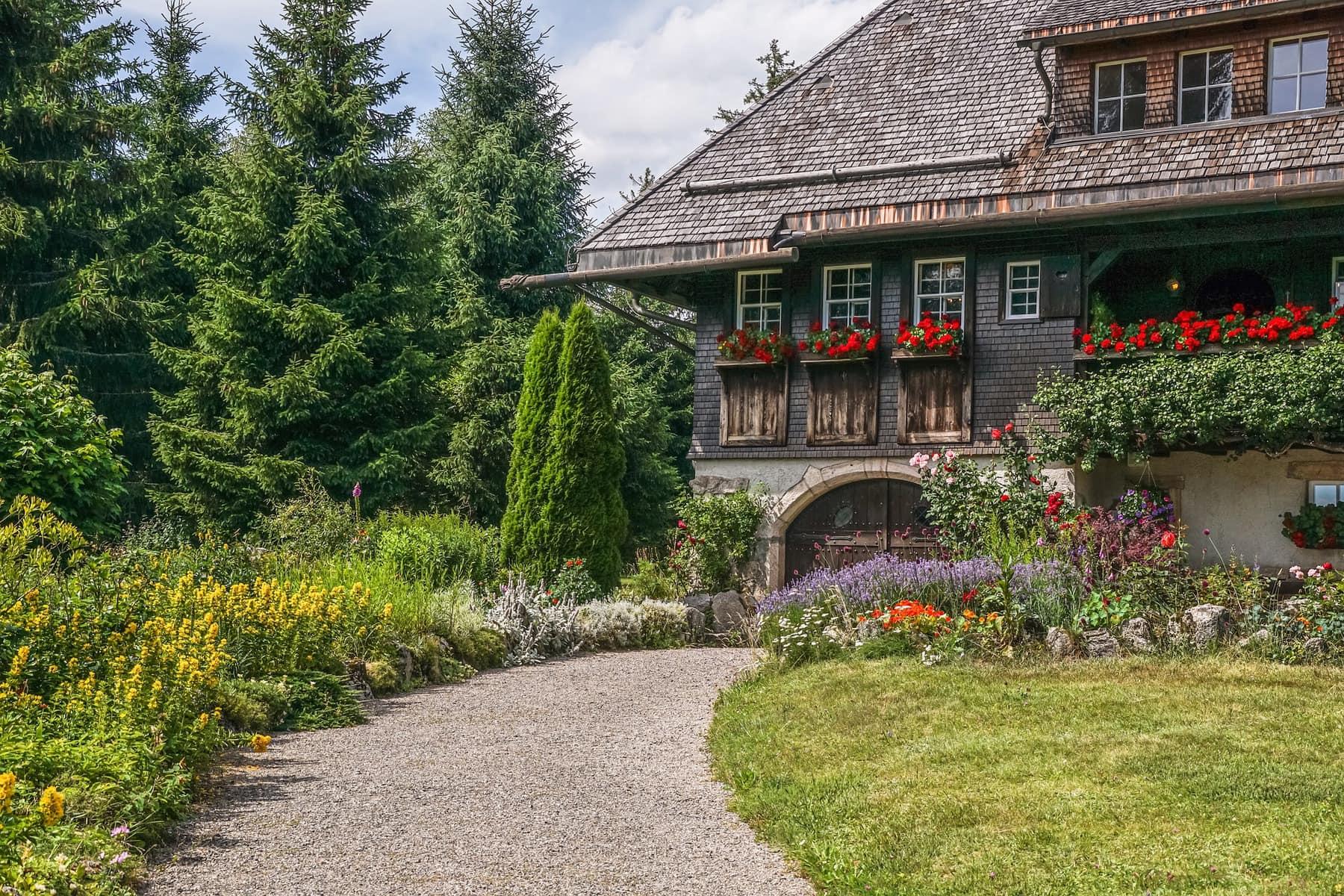 Schwarzwald Haus mit schönen Garten