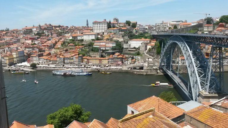 Portugal Porto Brücke