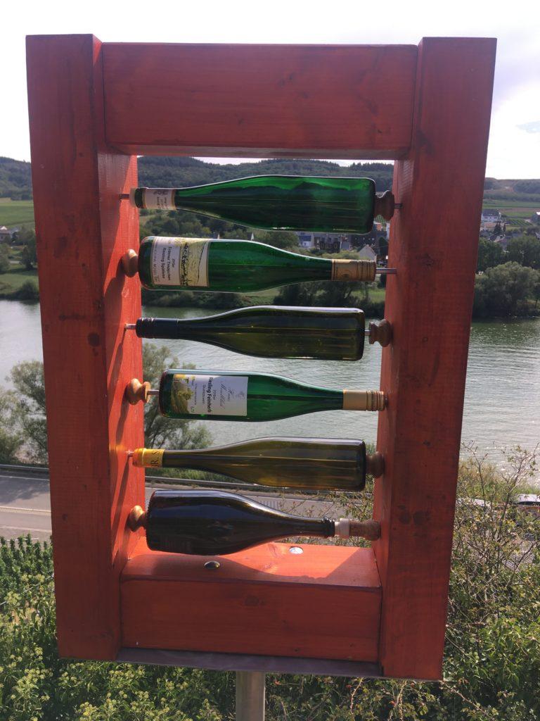 Mosel Weinflaschen