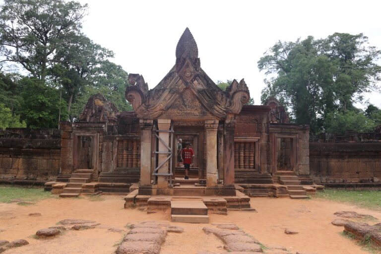 Banteay Srei Ansicht
