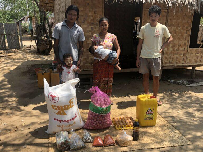Myanmar Lebensmittelkampagne