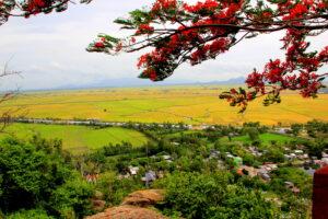 Chau Doc Aussicht vom Sam Mauntain