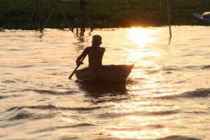 Mekong Delta Ruderer
