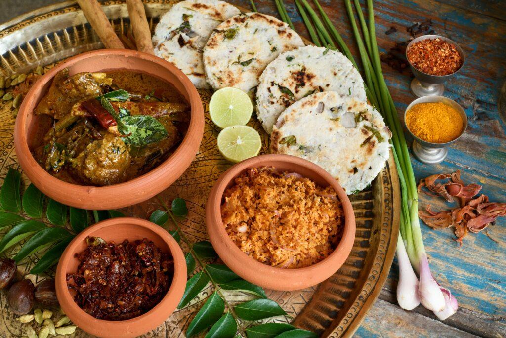 Sri Lanka Notary House Frühstück